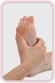 Reflexology foot massage image