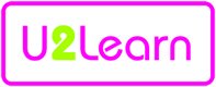 U 2 Learn logo and link to website